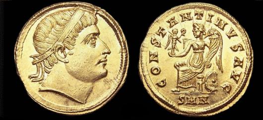 Roma numismatics Consta10
