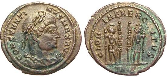 Roma numismatics Consta20