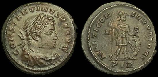 Roma numismatics Consta21