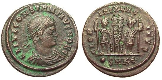 Roma numismatics Consta25