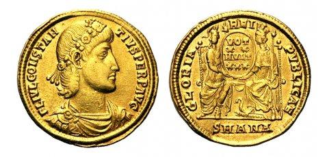 Roma numismatics Consta50