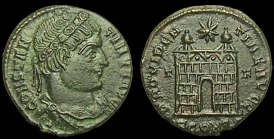 Roma numismatics Consta74