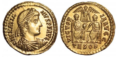 Roma numismatics Gratie10