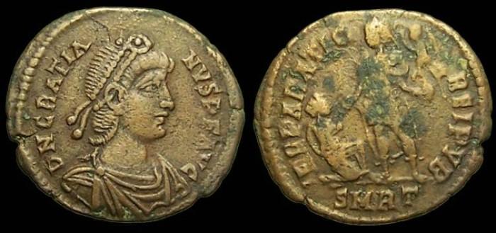Roma numismatics Gratie12