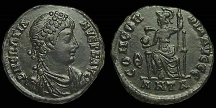 Roma numismatics Gratie13