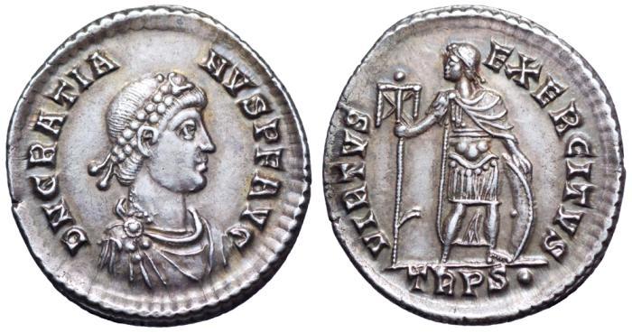 Roma numismatics Gratie15