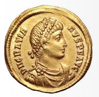 Roma numismatics Gratie20