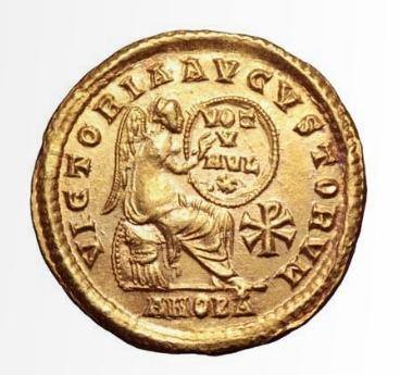 Roma numismatics Gratie21