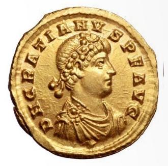 Roma numismatics Gratie22