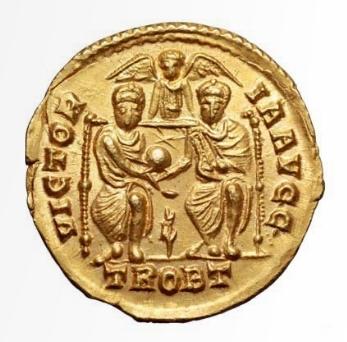 Roma numismatics Gratie23