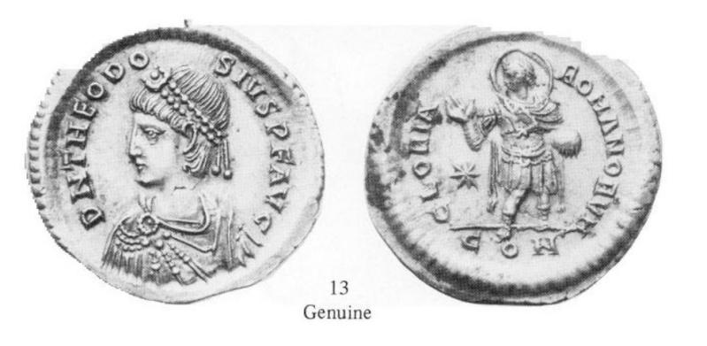 Comparaison de coins du Miliarense de Théodose II   Monnai15
