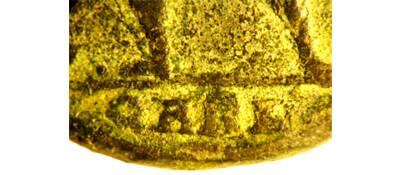 Un follis inédit de Constantin Ier, revers avec Victoire et empereur Qarl_e10