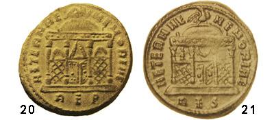 Un follis inédit de Constantin Ier, revers avec Victoire et empereur Rome_a10