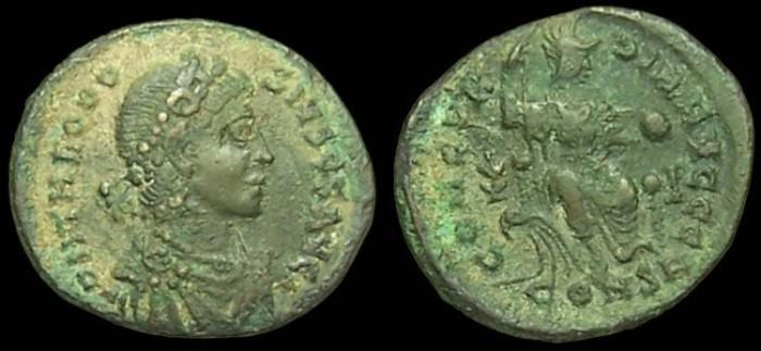 Roma numismatics Theodo10
