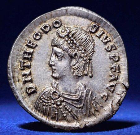 Roma numismatics Theodo11