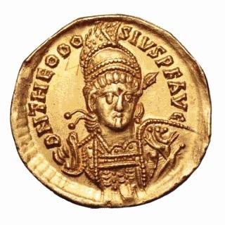 Roma numismatics Theodo12