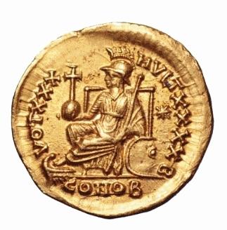Roma numismatics Theodo14