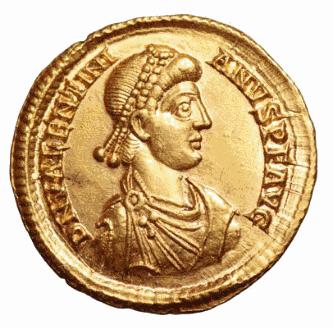 Roma numismatics Valent10
