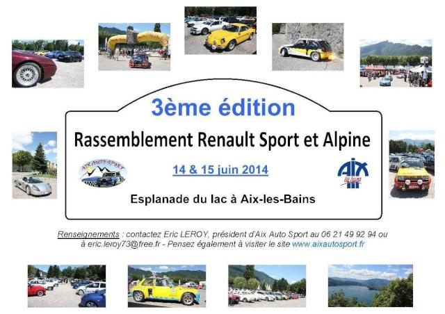 14/15 juin 2014 - 3e Rassemblement RS et Alpine à Aix-les-Bains Flyer_10