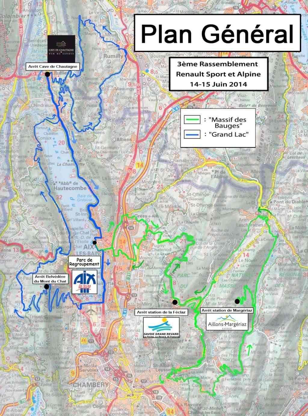 14/15 juin 2014 - 3e Rassemblement RS et Alpine à Aix-les-Bains Parcou11