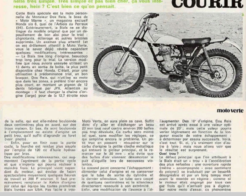 Mon  125 mono Honda adoré...... - Page 2 Motoma12