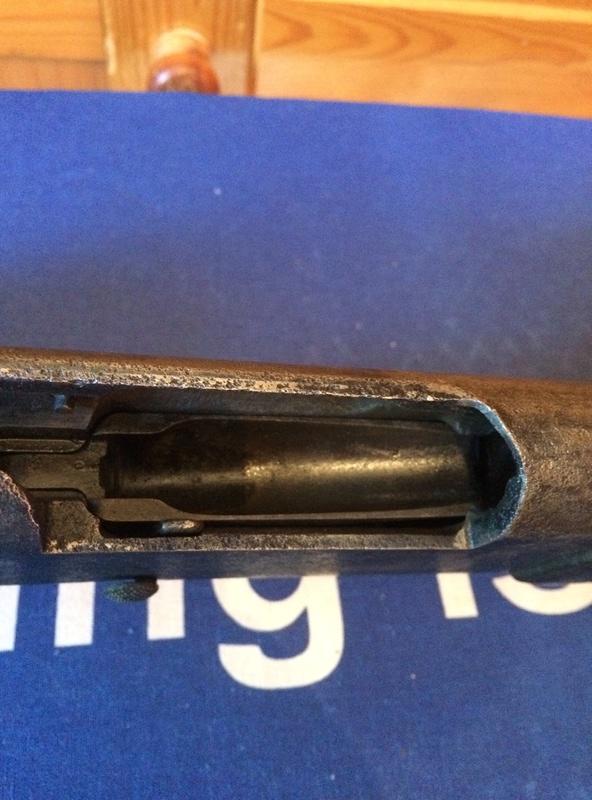 lebel r35 de cheminée , bois néttoyé  Img_0714