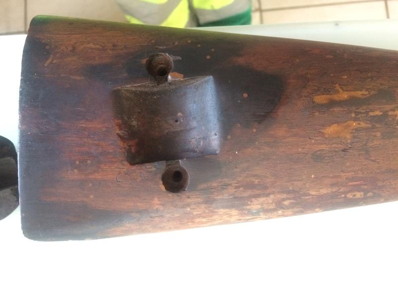 lebel r35 de cheminée , bois néttoyé  Img_0922