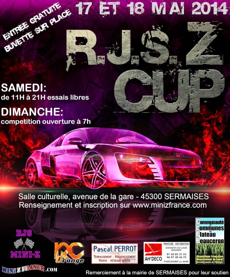 """La    """"  R.J.S.  Z CUP  """"    aura lieu le  """" 17 et 18 MAI """"  2014. Finalb10"""
