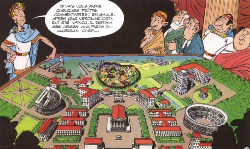 Astérix Le Domaine des Dieux, dessin animée 3D Domain11