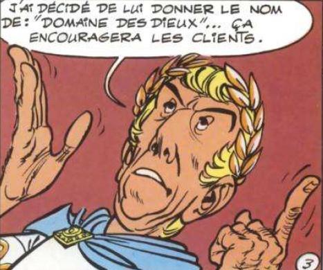 Astérix Le Domaine des Dieux, dessin animée 3D Domain13