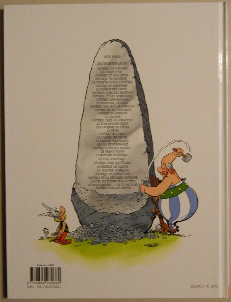 """""""Astérix chez les Pictes"""" Tome 35 (24 Octobre 2013)    Dscn9412"""