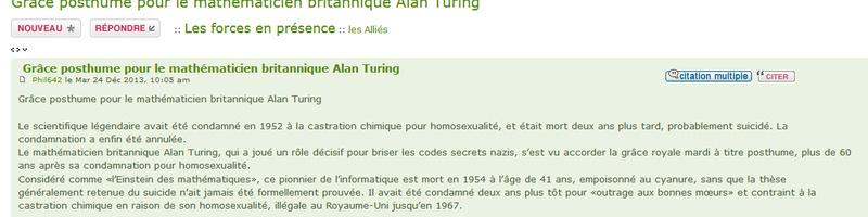 Grâce posthume pour le mathématicien britannique Alan Turing Fil_al11
