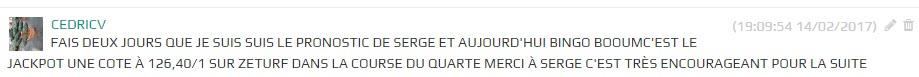 104€ de gains ( merci serge ) 2017-010
