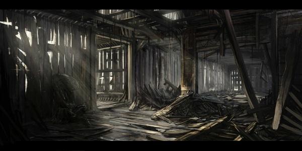 Quartier résidentiel - Maison en ruine Kin-ho10