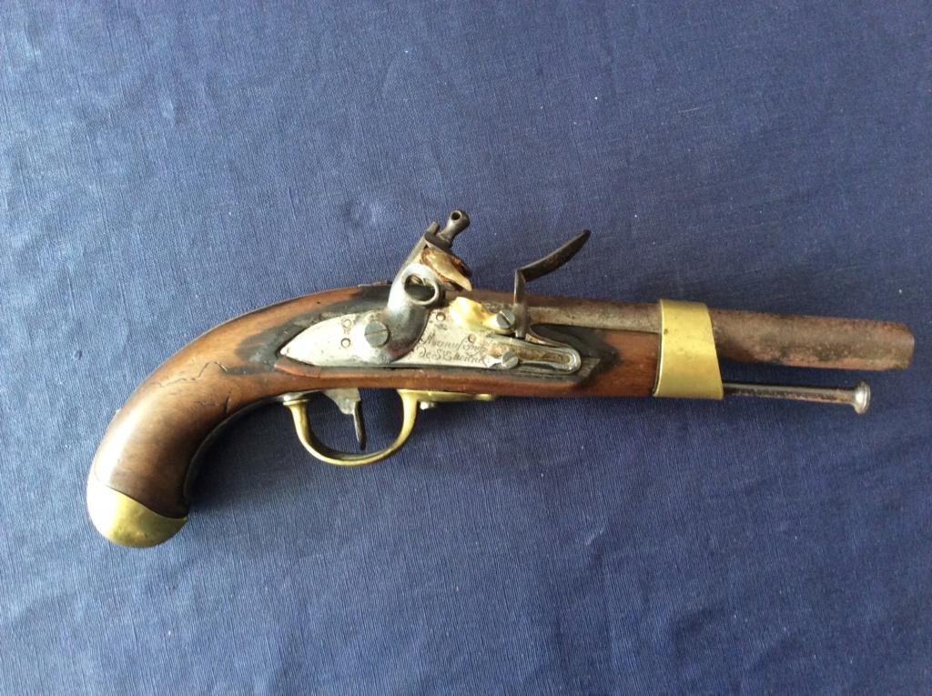 un pistolet  AN XIII Img_0617