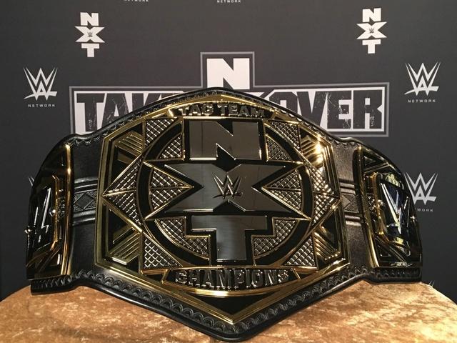 [Compétition] La WWE dévoile de nouvelles ceintures de champions pour NXT C8xszt10
