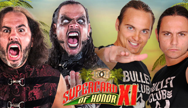 ROH SuperCard of Honor XI du 01/04/2017 Hardys10