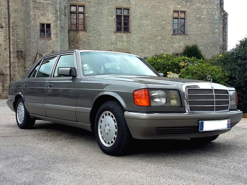La W126 300 SEL ECE 1989 de Syl20 20170313