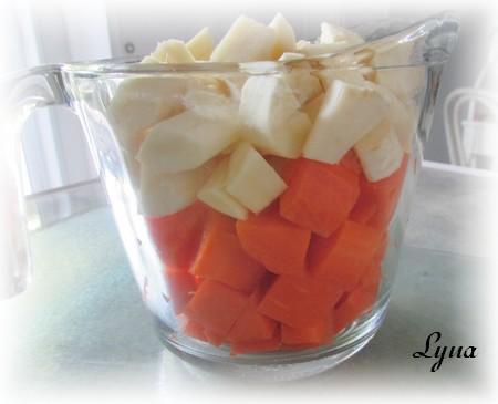 Flan de carottes et panais aux fines herbes Carott10