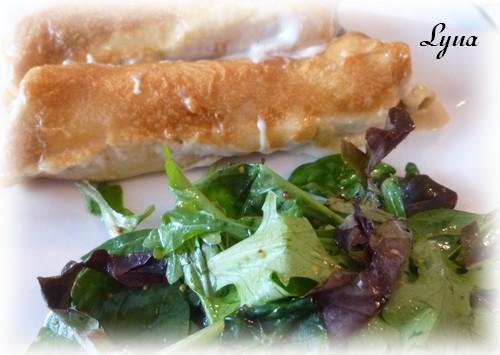 Crêpes au poulet et fromage Crapes11