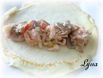 Crêpes gratinées au saumon et crevettes nordiques Crepe_10