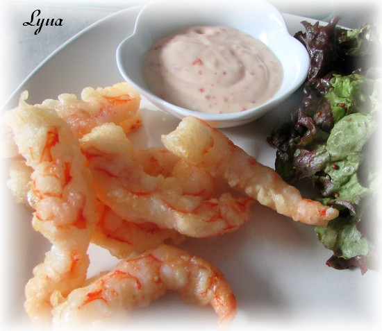 Crevettes tempura Crevet17