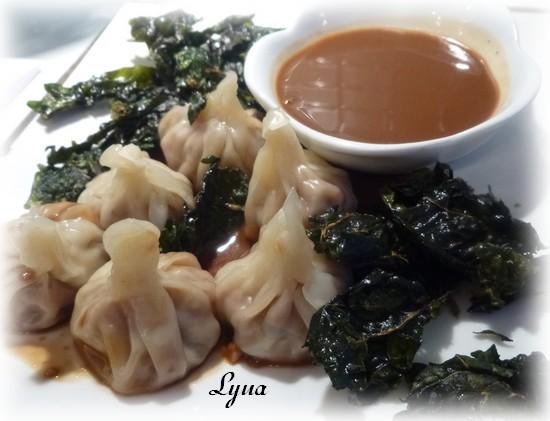 Dim sum Hunan, sauce aux arachides (dumplings) Dumpli15