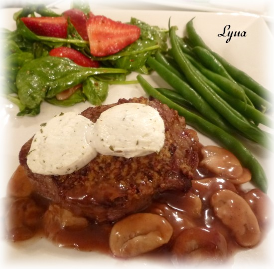 Filet mignon au chèvre, sauce au Porto Filet_20