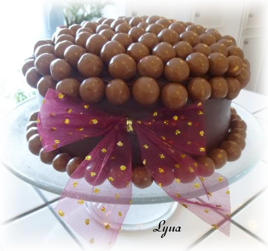 Gâteau au chocolat et lait malté (maltesers) Gateau19