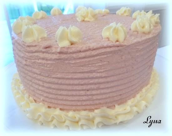 Gâteau spirale à la framboise Gateau52