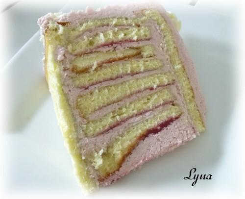 Gâteau spirale à la framboise Gateau54