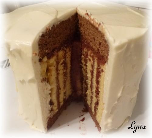 Gâteau spirale à la framboise Gateau55