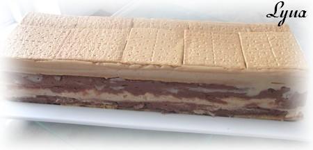 Gâteau barres snickers (sans cuisson) Gateau58