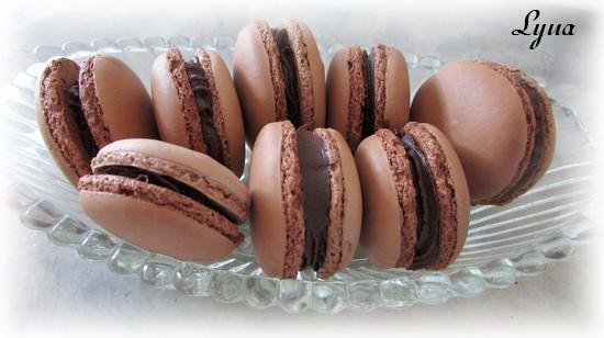 Macarons au chocolat au lait Macaro19